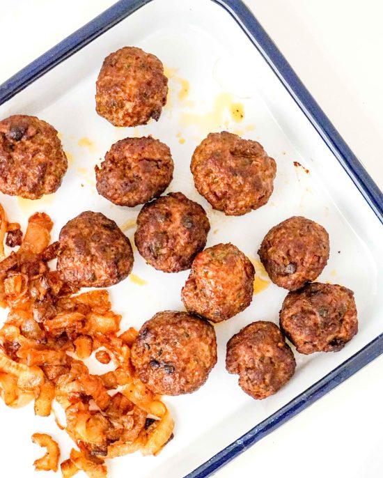 Kofte (Lamb Meatballs)