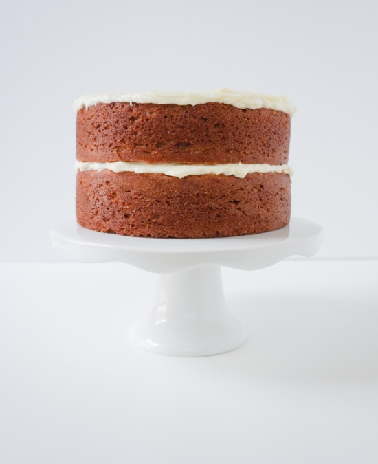 Banana Cake with Cream Cheese Frosting3