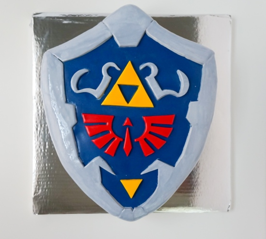 Hylian Shield Cake