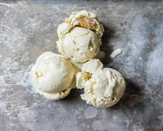 Blue Cheese and Pear Ice Cream (2)