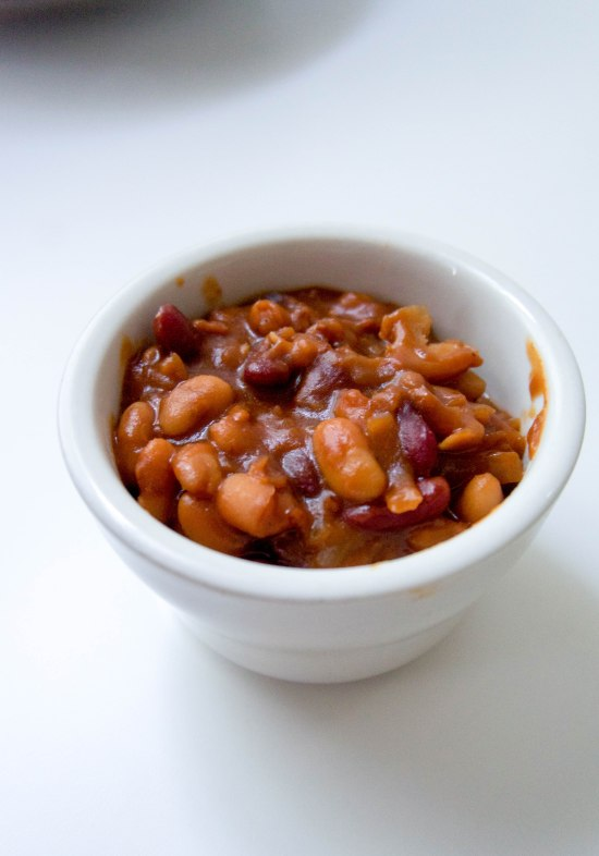 Smokey Three Bean Baked Beans1